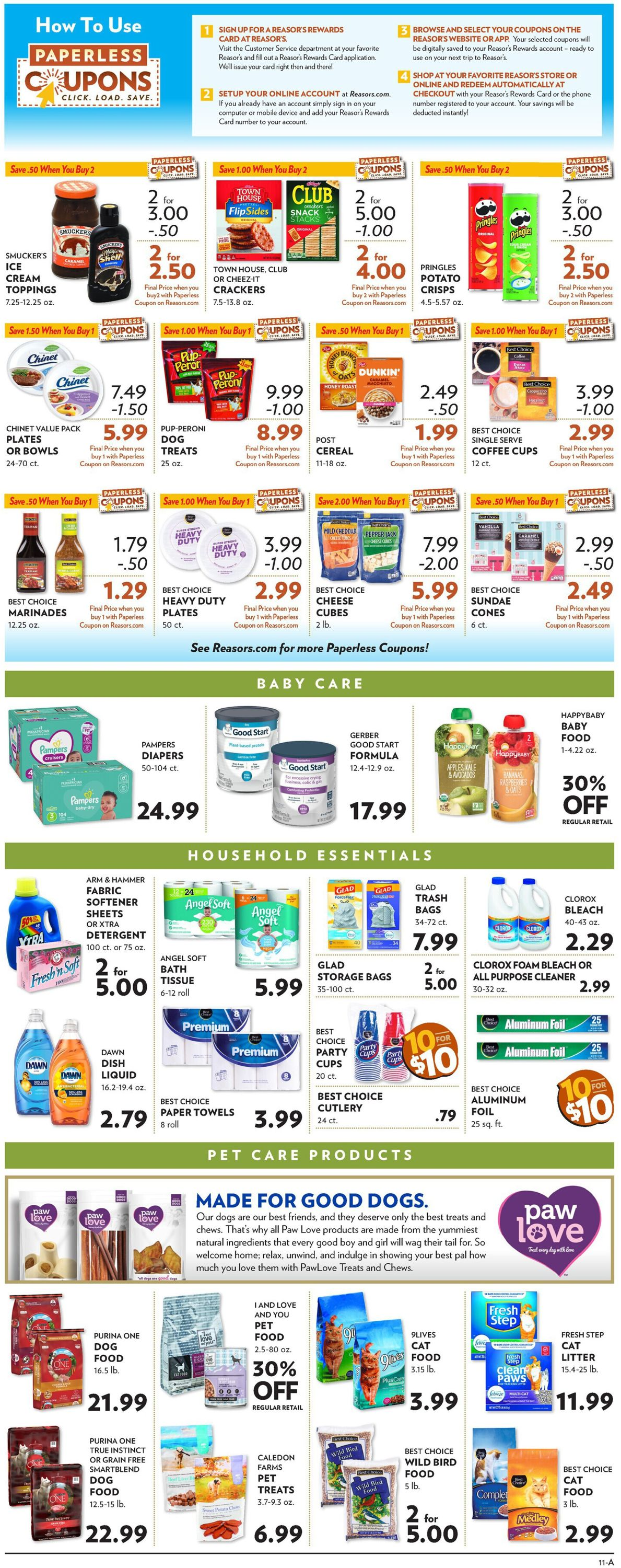 Catalogue Reasor's from 05/26/2021