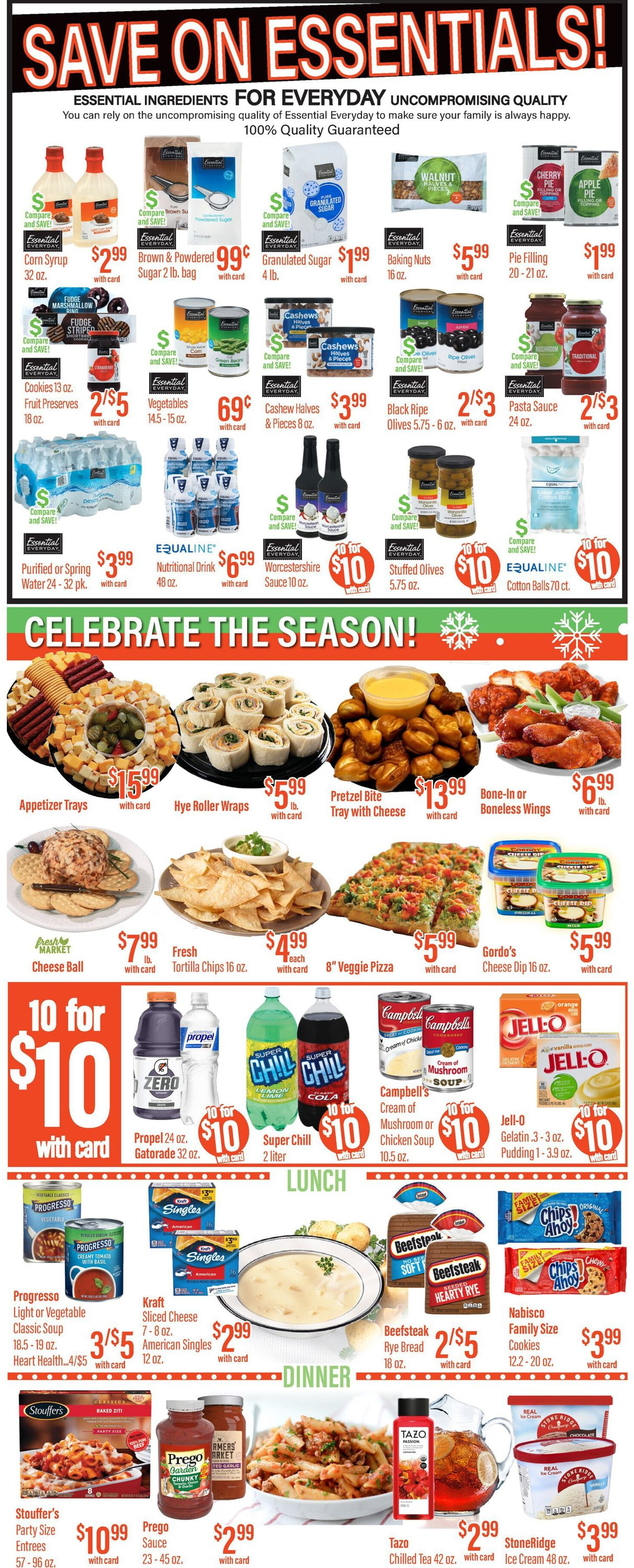 Catalogue Remke Markets Christmas Ad 2020 from 12/17/2020