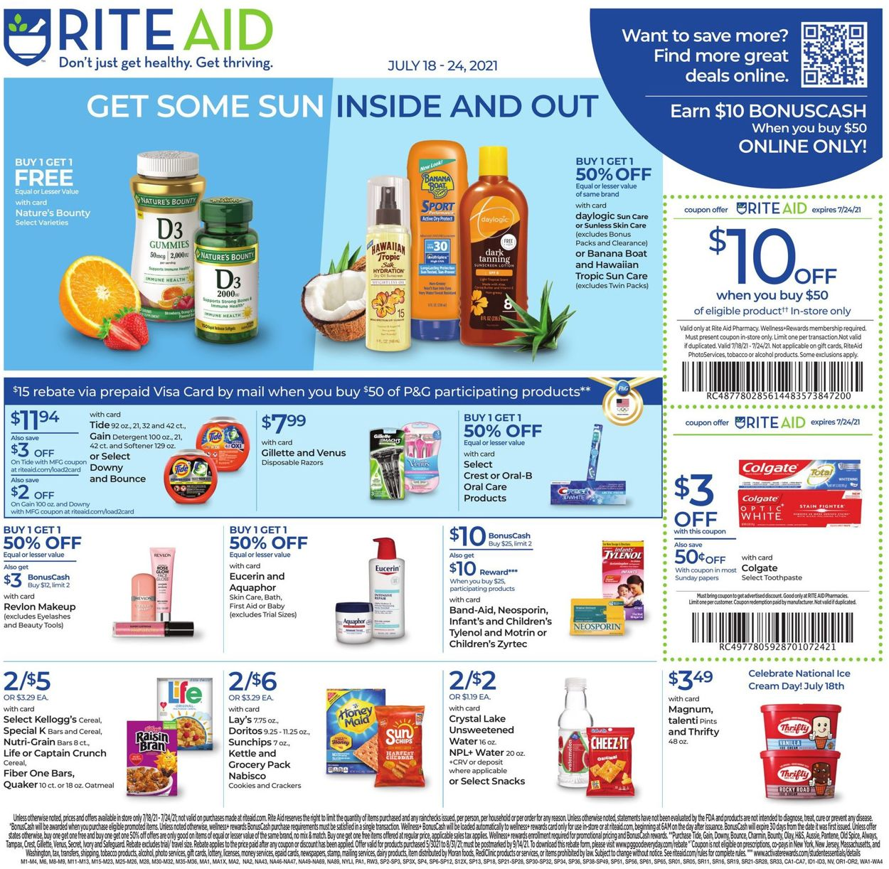 Catalogue Rite Aid from 07/18/2021