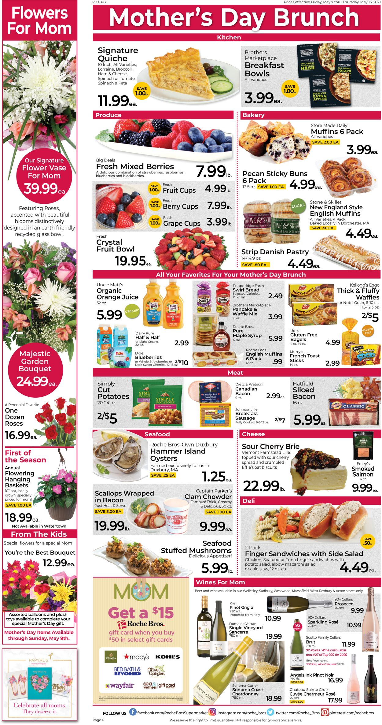 Catalogue Roche Bros. Supermarkets from 05/07/2021