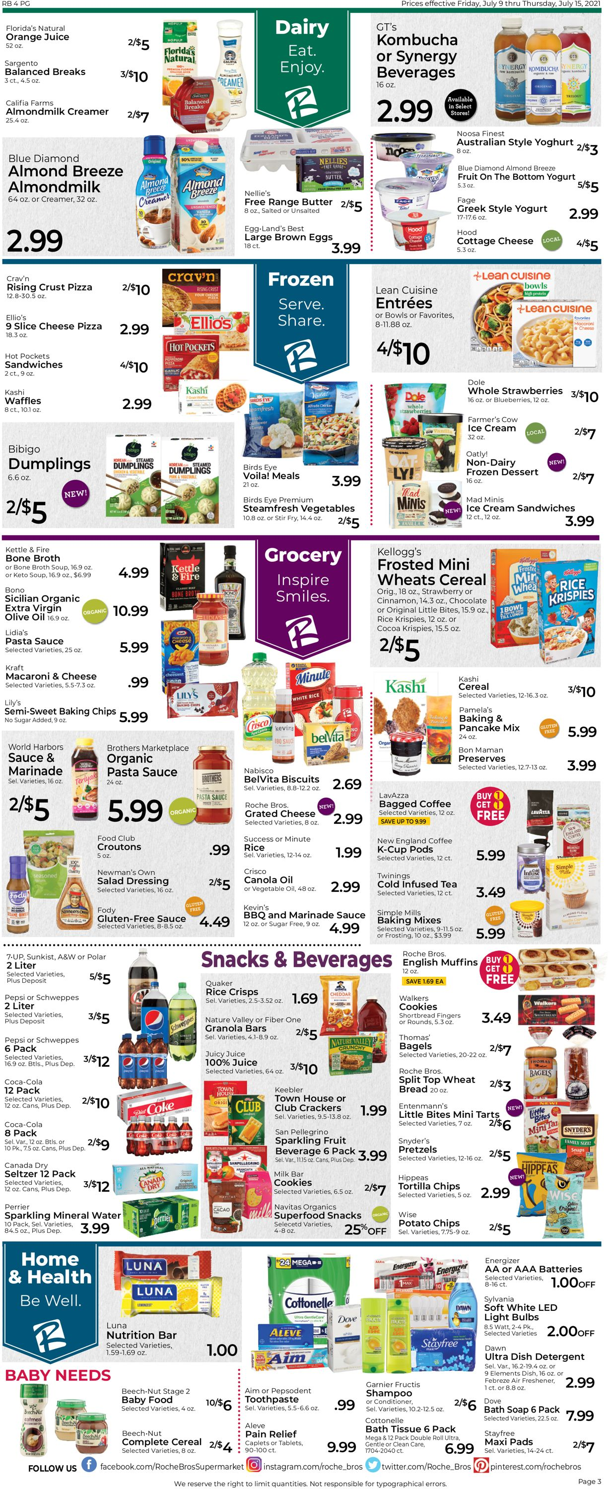 Catalogue Roche Bros. Supermarkets from 07/09/2021