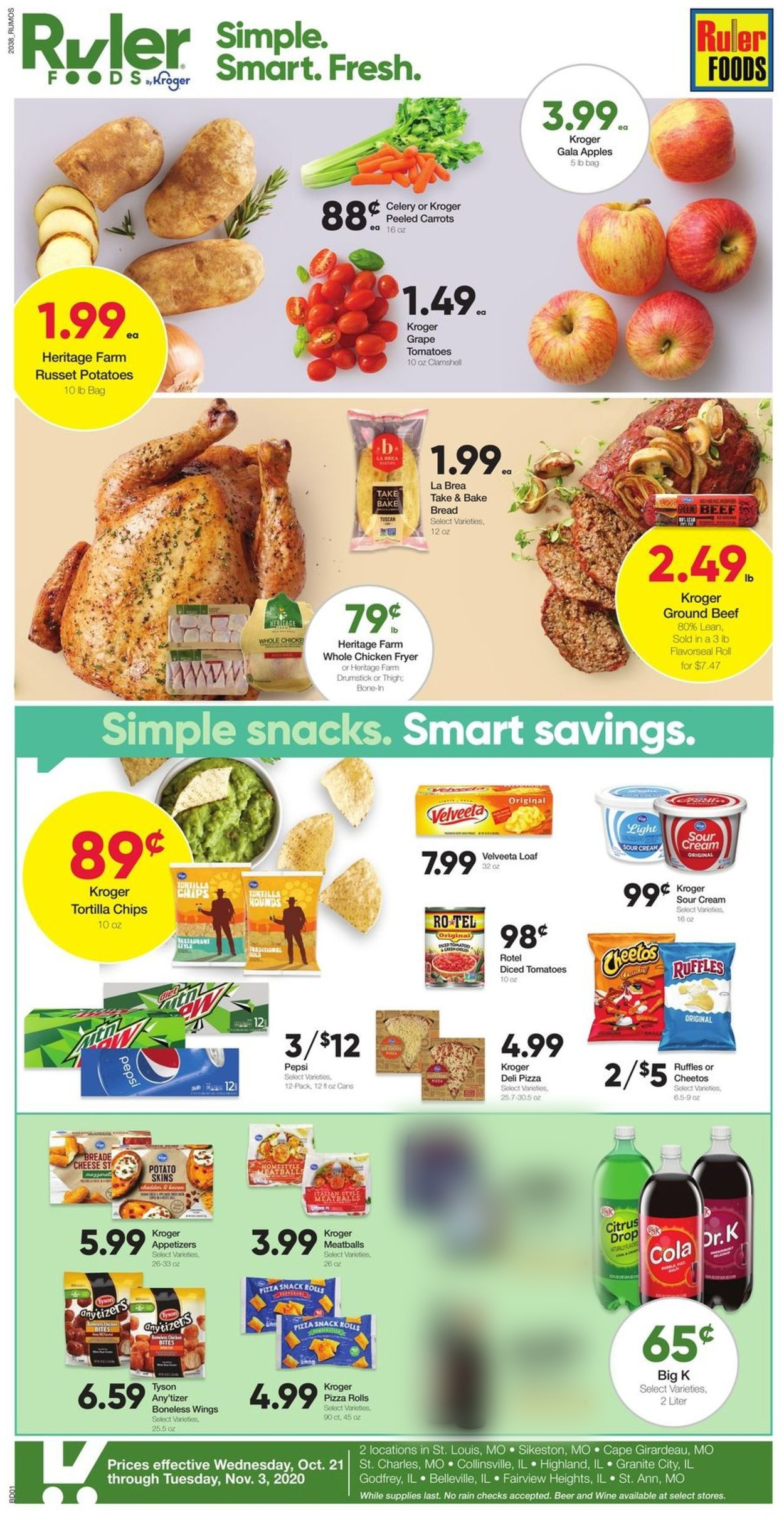 Catalogue Ruler Foods from 10/21/2020