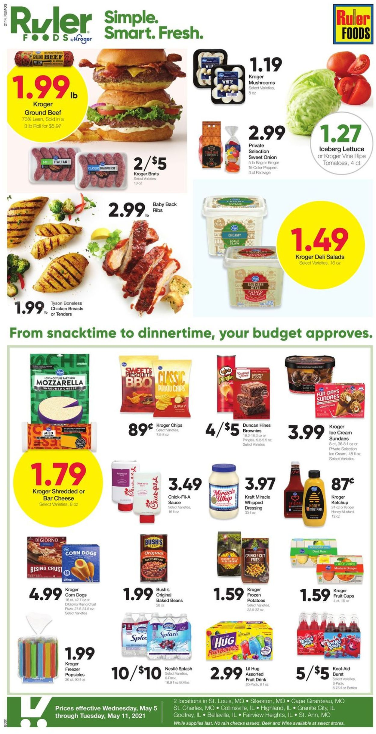 Catalogue Ruler Foods from 05/05/2021