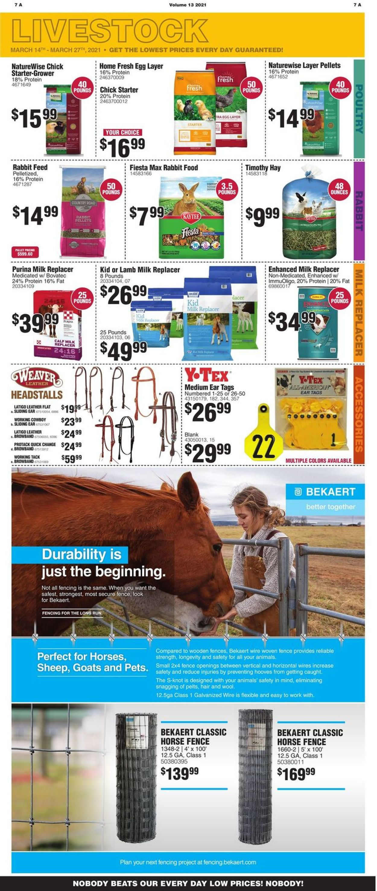 Catalogue Rural King from 03/14/2021