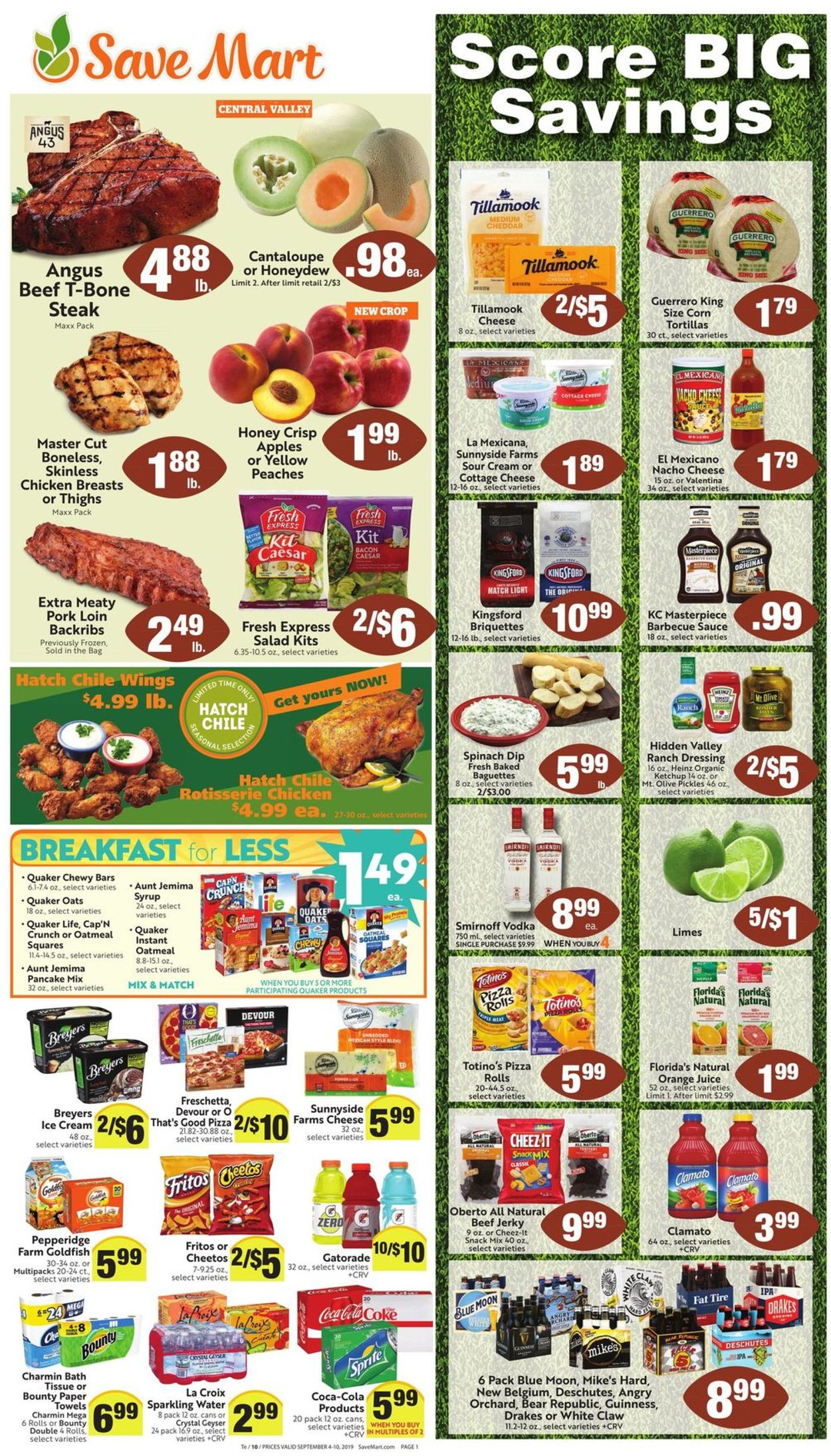 Catalogue Save Mart from 09/04/2019