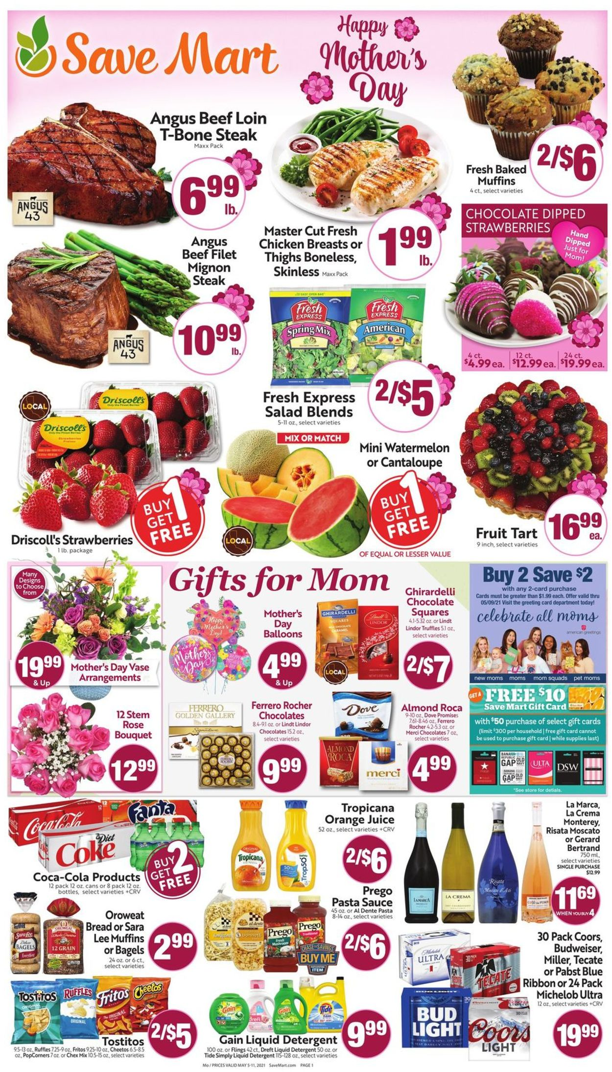 Catalogue Save Mart from 05/05/2021