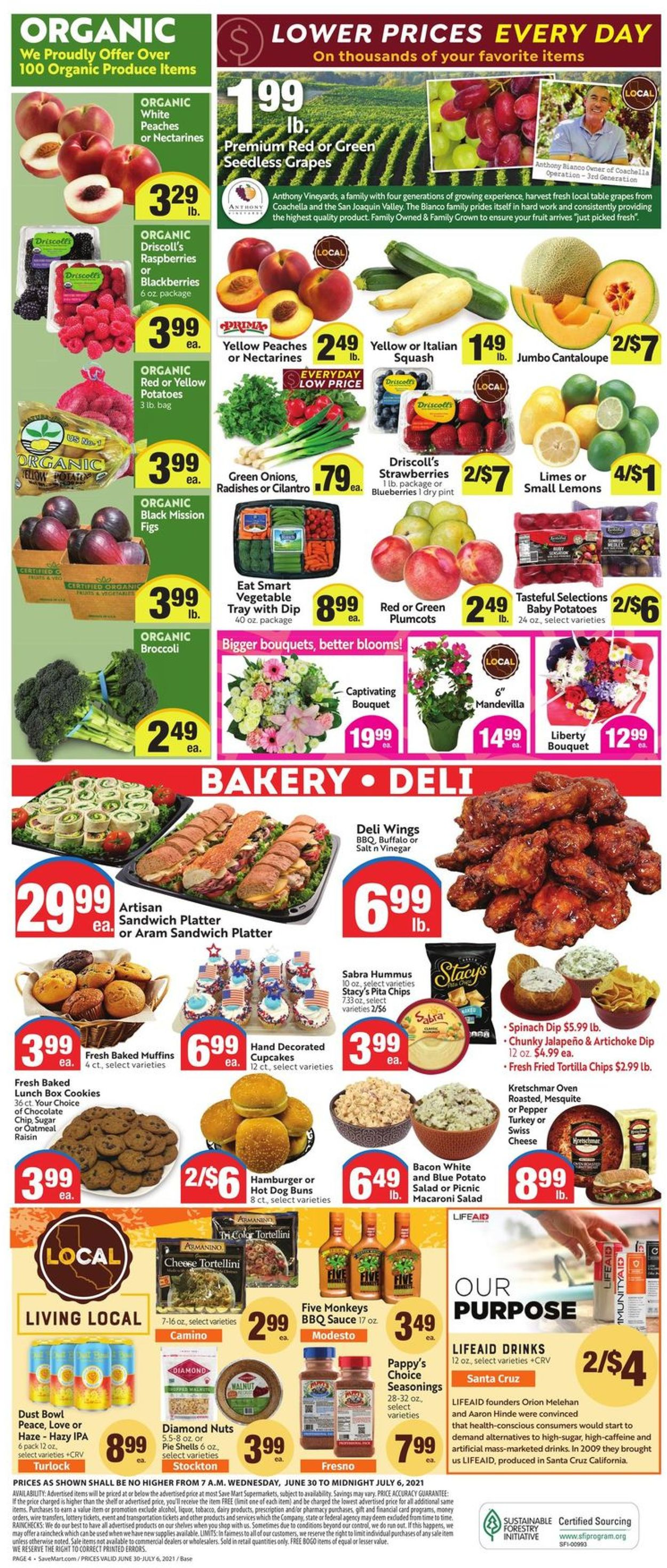Catalogue Save Mart from 06/30/2021