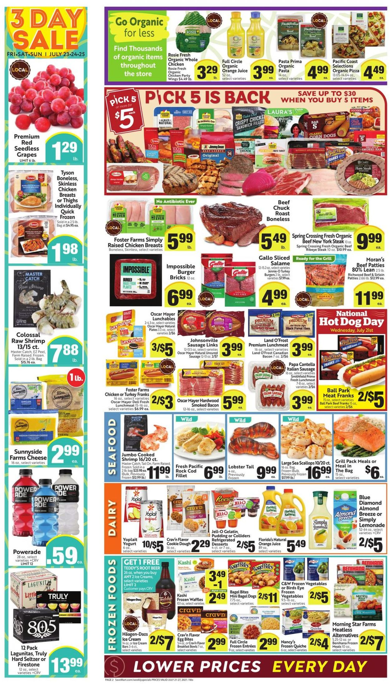 Catalogue Save Mart from 07/21/2021