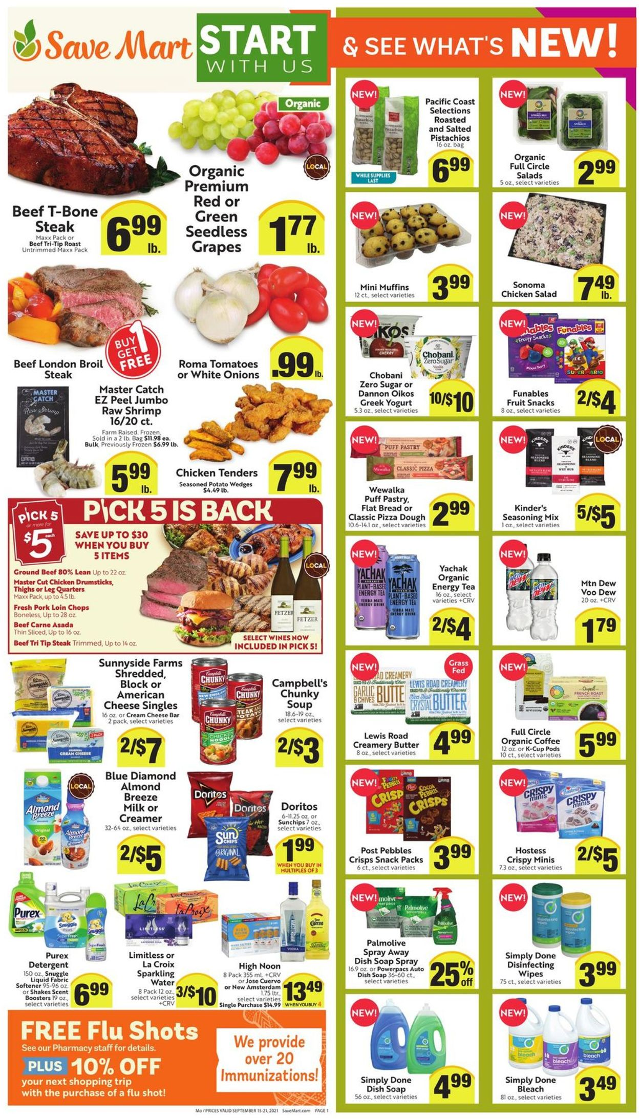 Catalogue Save Mart from 09/15/2021