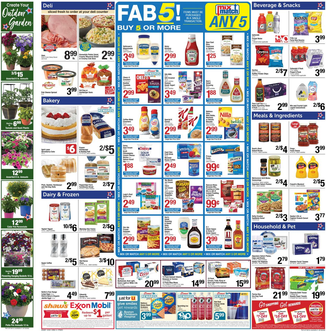Catalogue Shaw's from 05/28/2021
