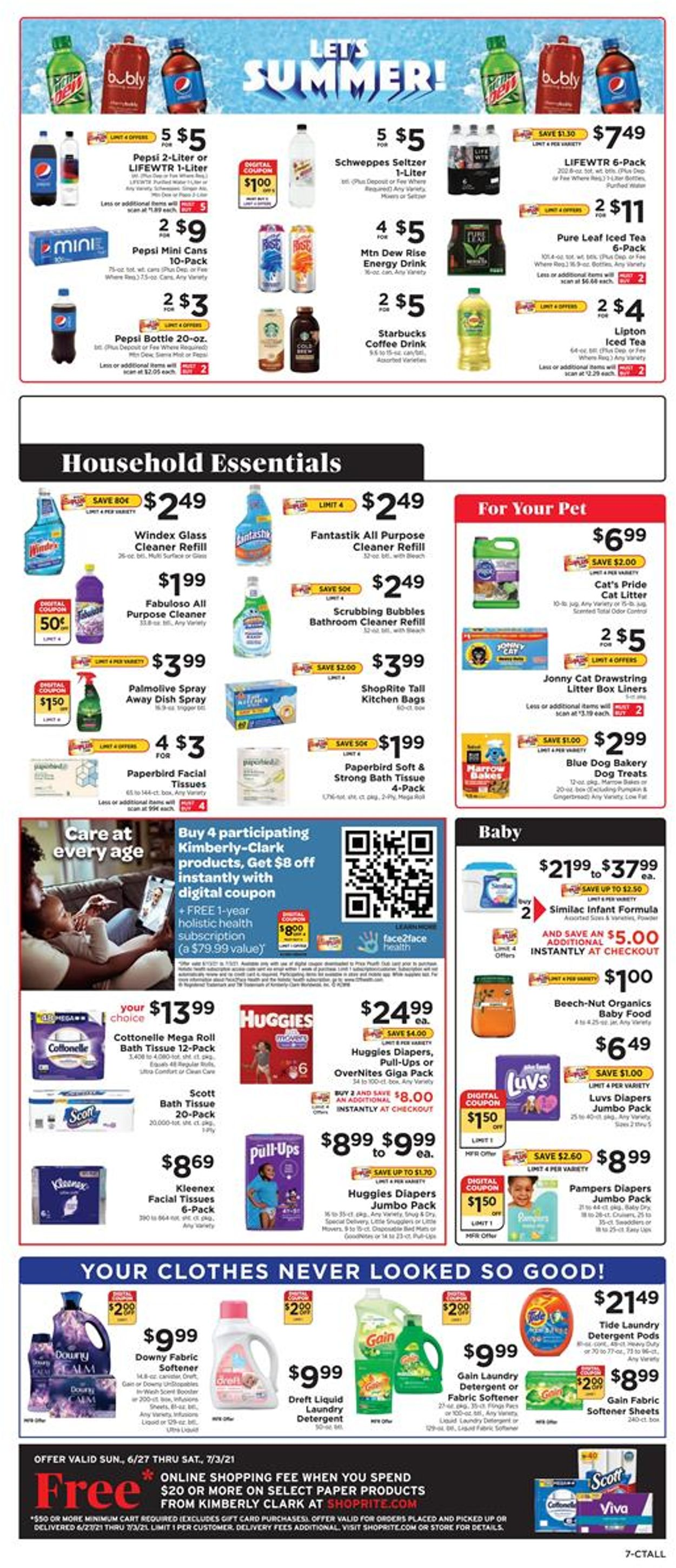 Catalogue ShopRite from 06/27/2021