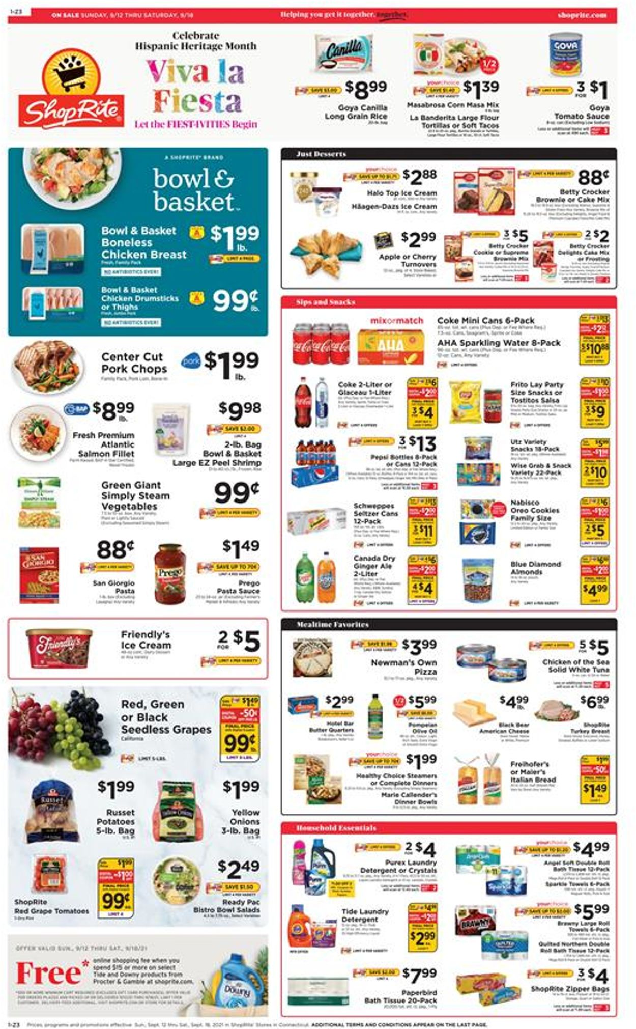 Catalogue ShopRite from 09/12/2021