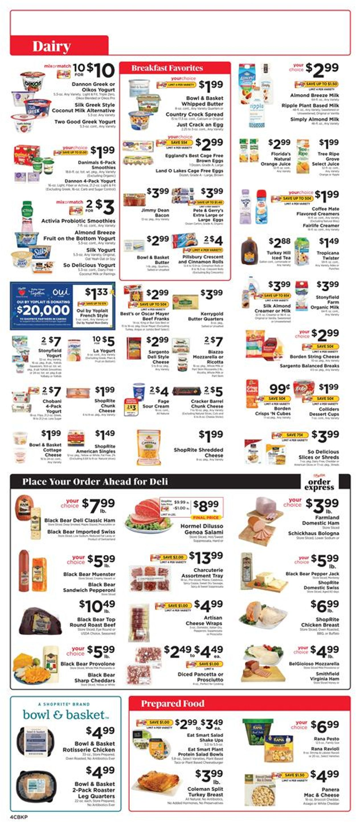 Catalogue ShopRite from 09/19/2021