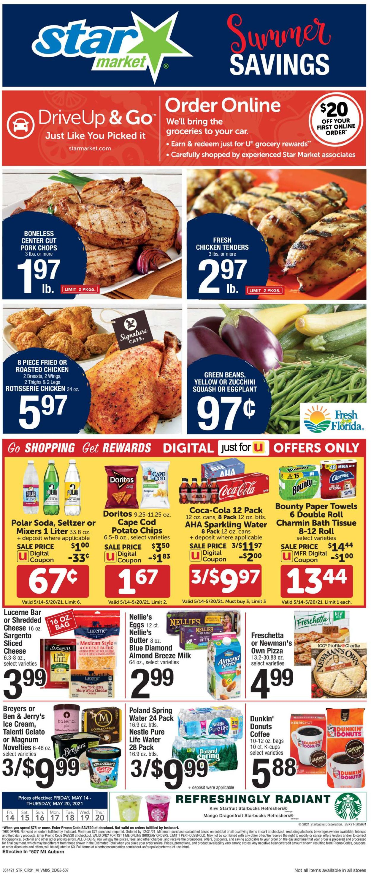 Catalogue Star Market from 05/14/2021