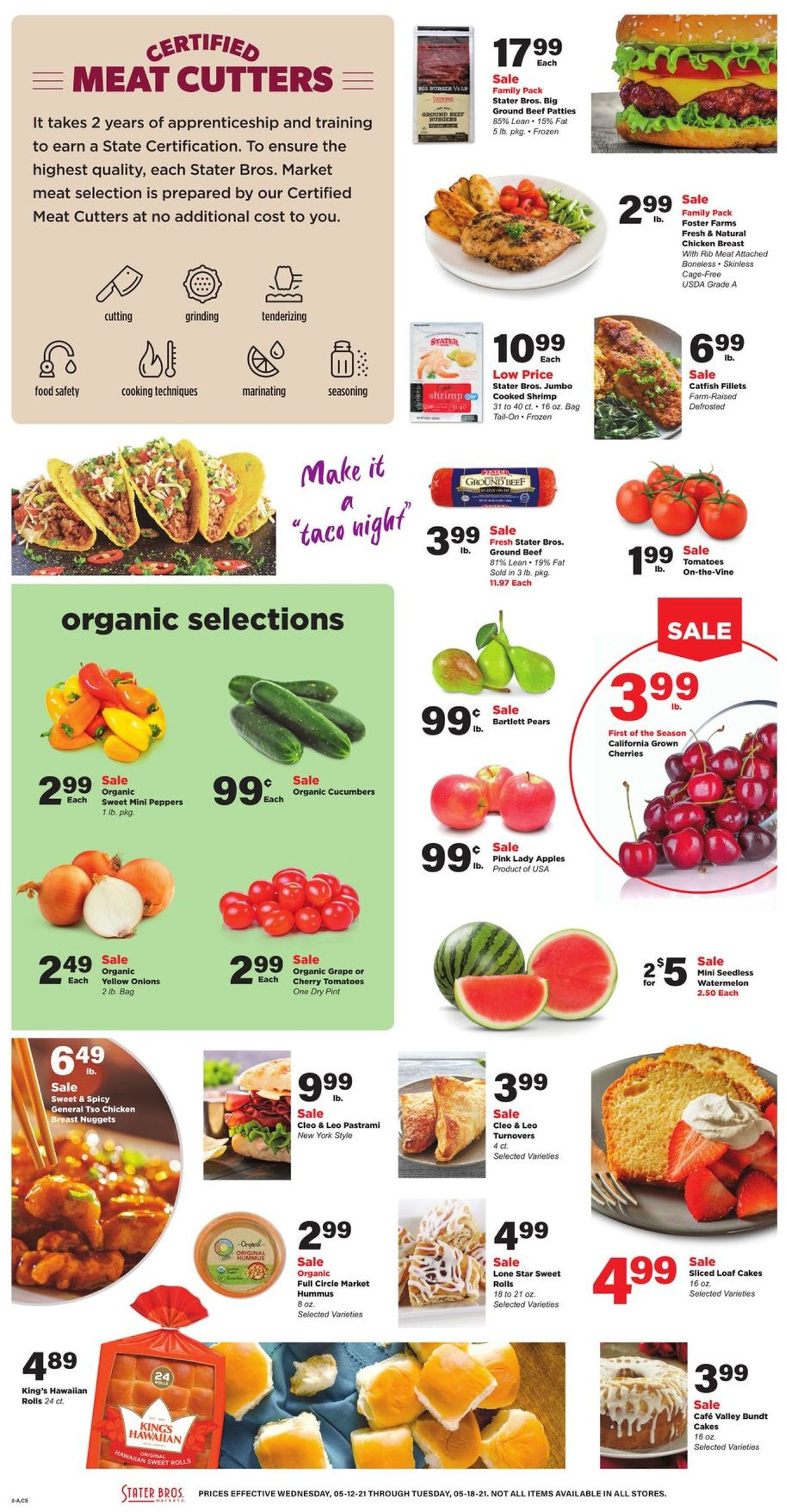 Catalogue Stater Bros. from 05/12/2021