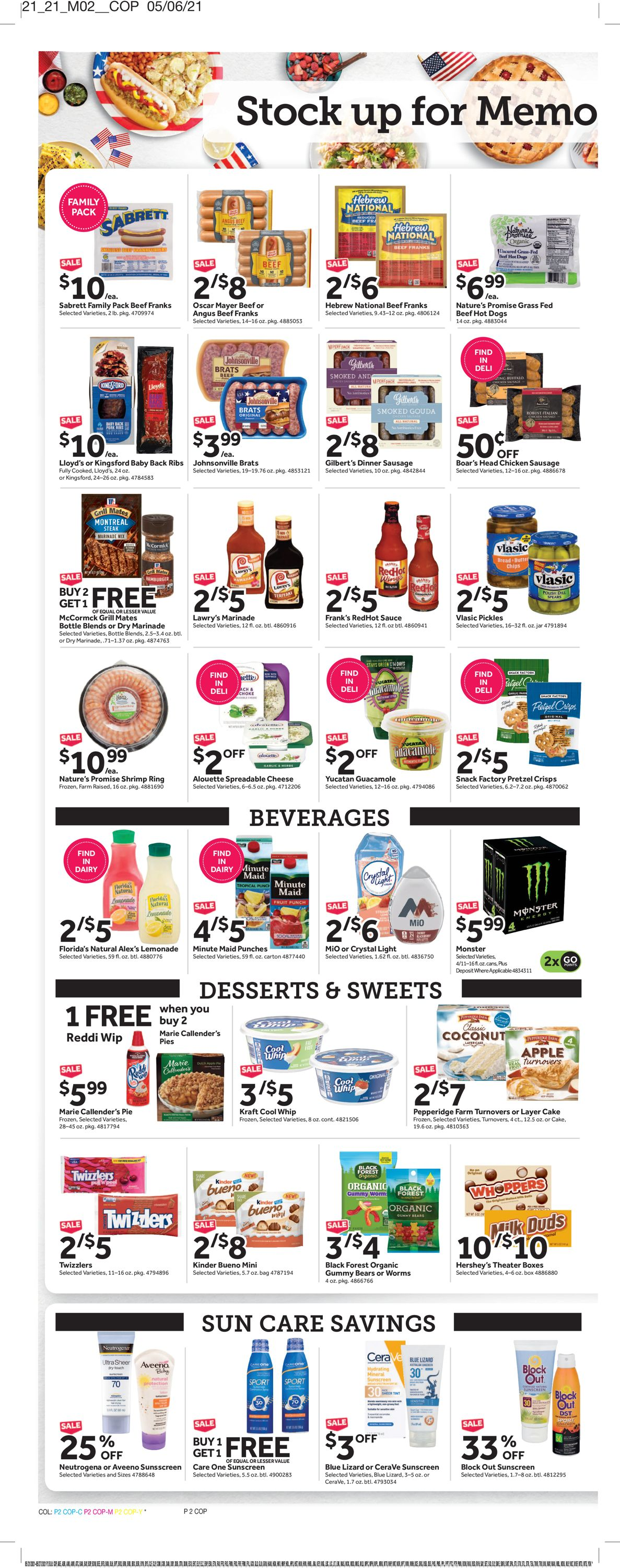 Catalogue Stop and Shop from 05/21/2021