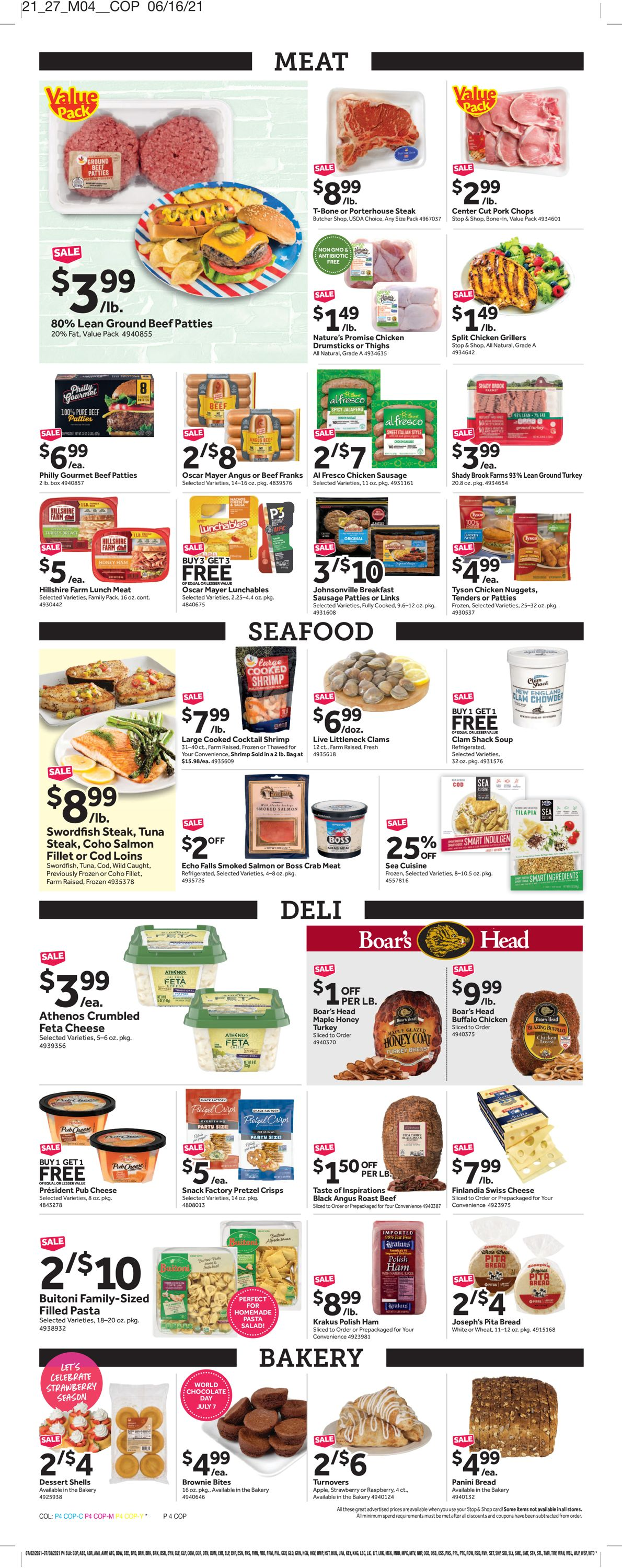 Catalogue Stop and Shop from 07/02/2021