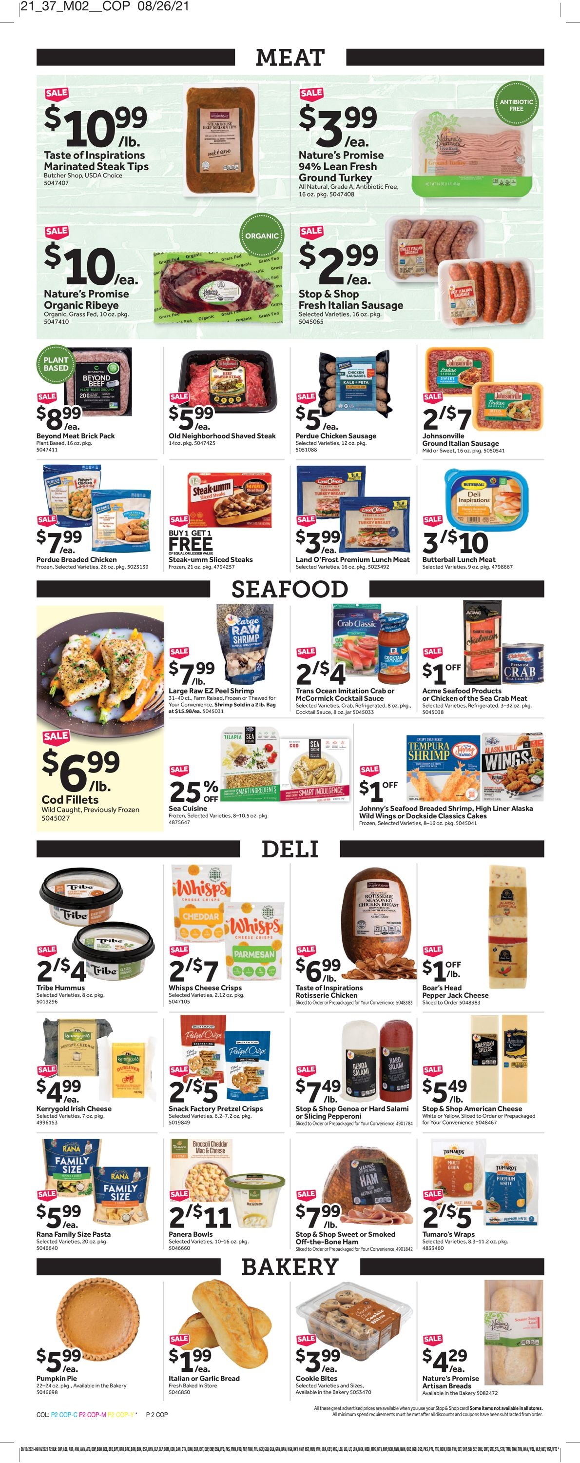 Catalogue Stop and Shop from 09/10/2021