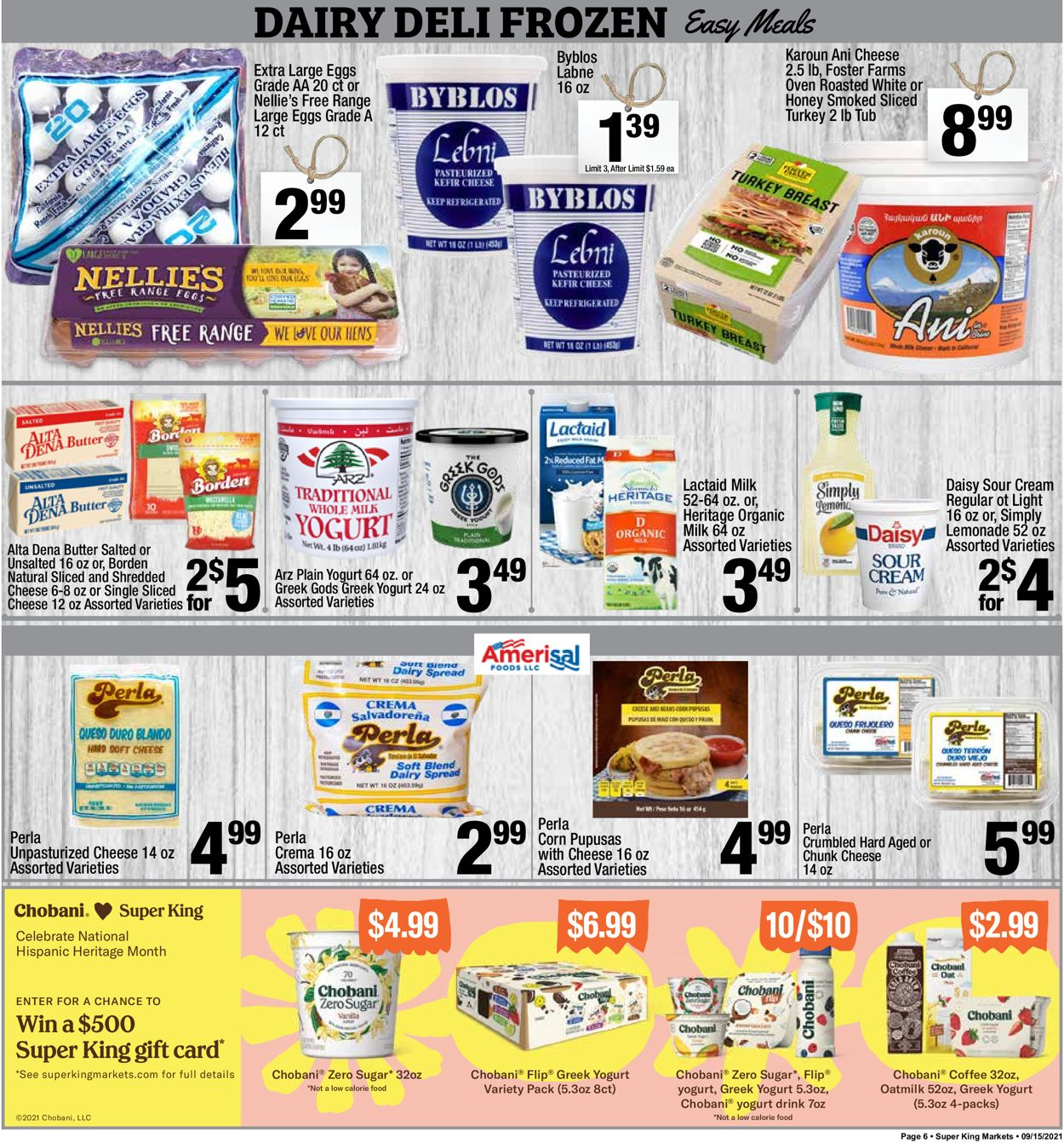 Catalogue Super King Market from 09/15/2021