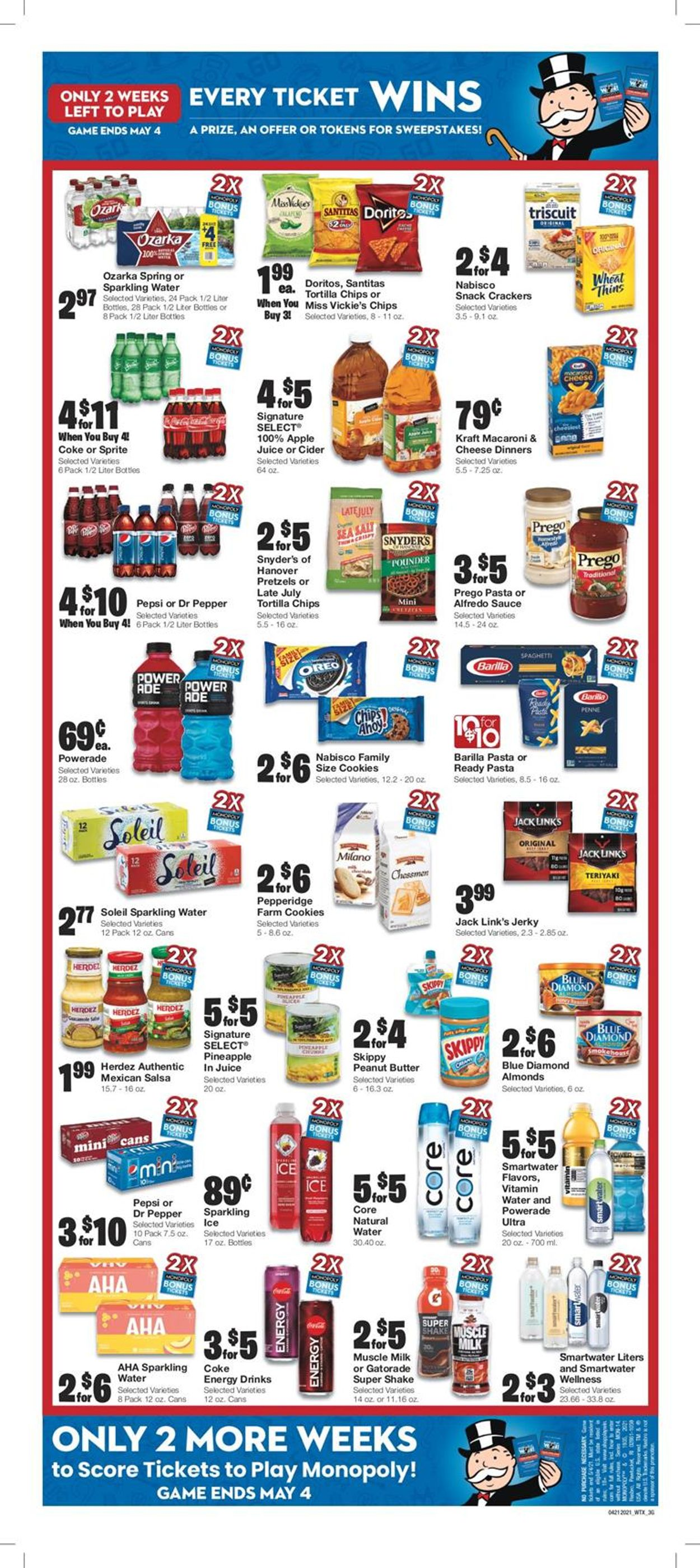 Catalogue United Supermarkets from 04/21/2021