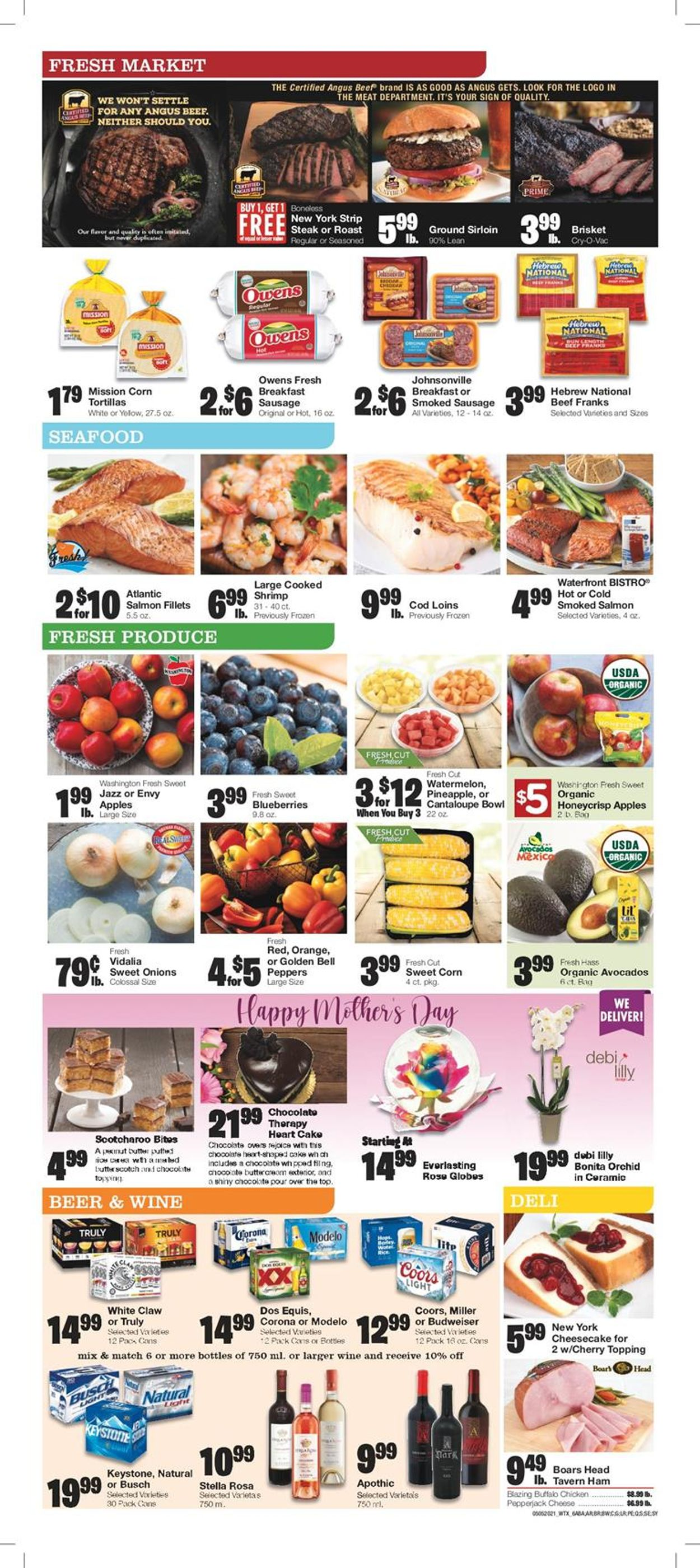 Catalogue United Supermarkets from 05/05/2021