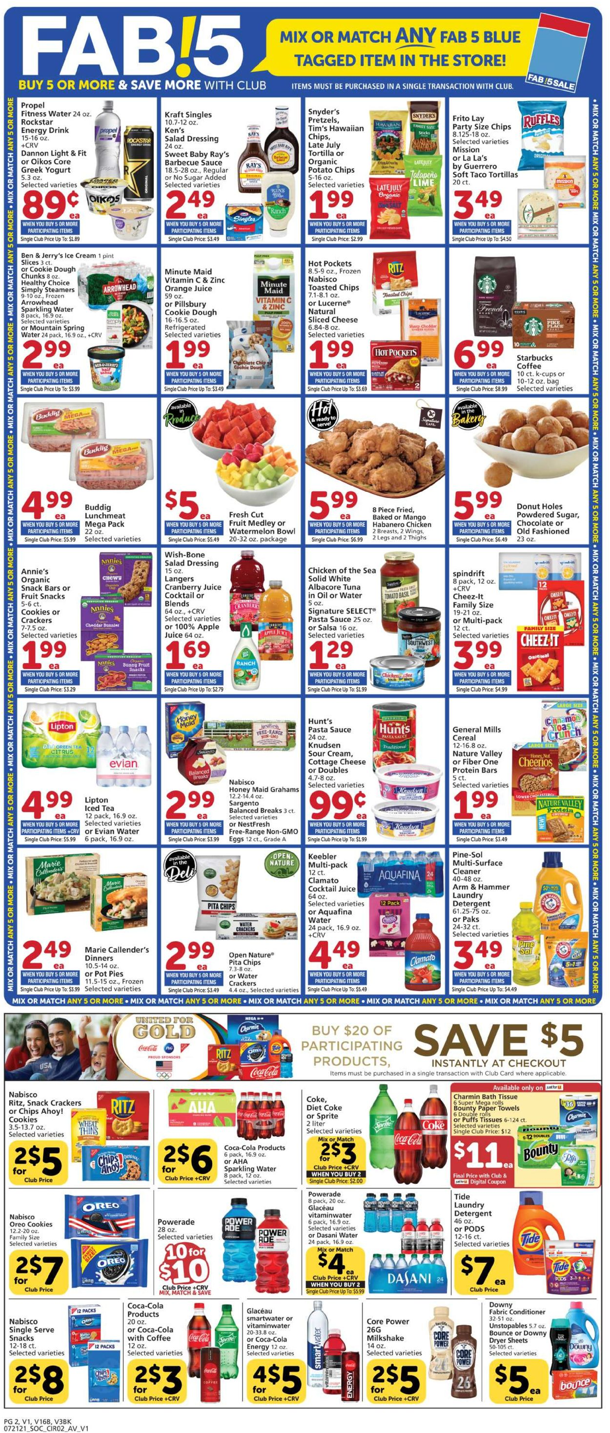 Catalogue Vons from 07/21/2021