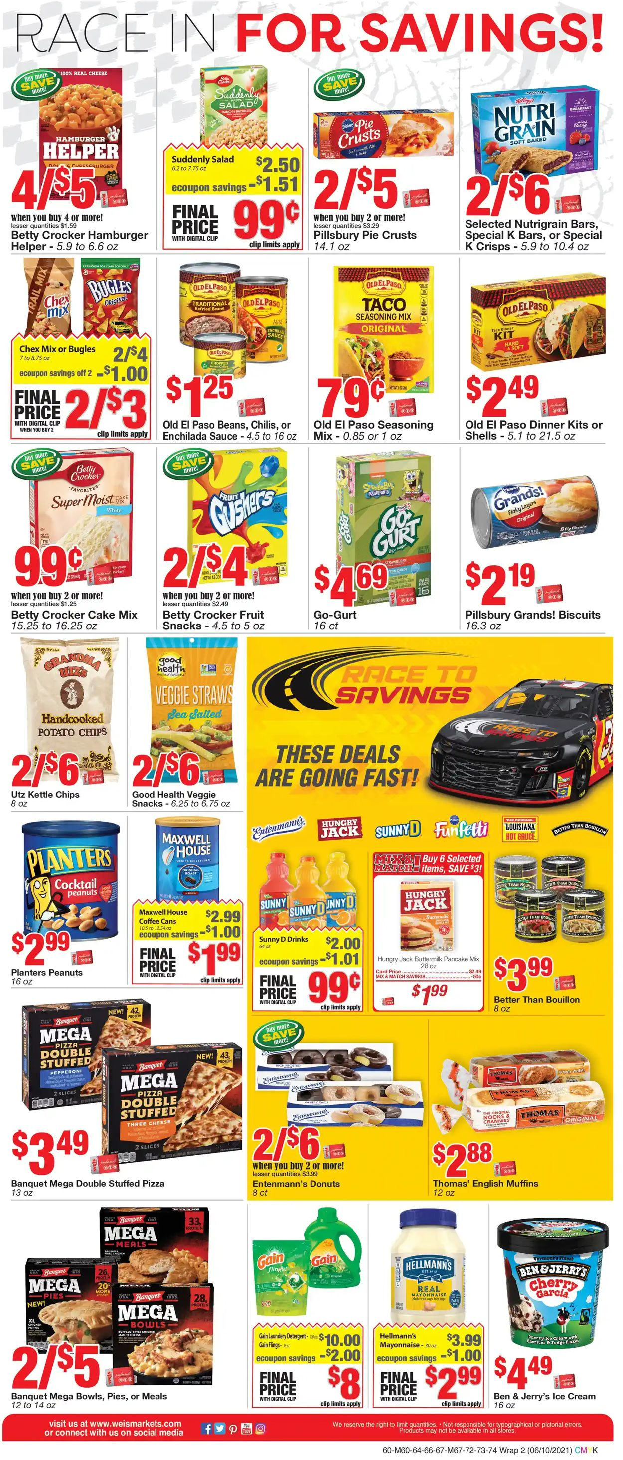 Catalogue Weis from 06/10/2021