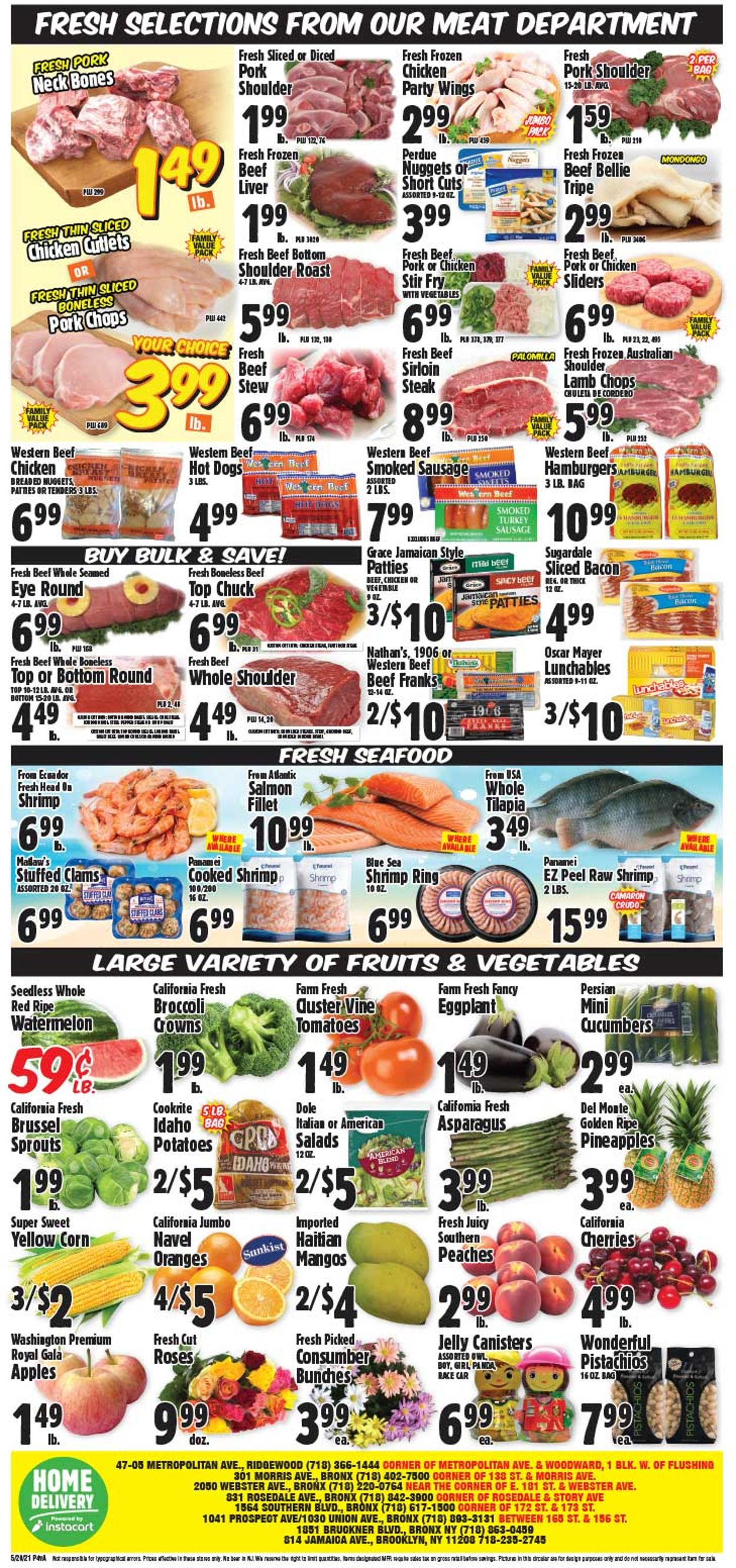Catalogue Western Beef from 05/20/2021